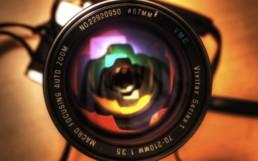 Zoom camera lens