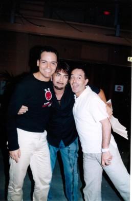 Con Ivan Cattaneo e Antonio Giuliani