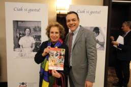 Con l'annunciatrice Rai Rosanna Vaudetti