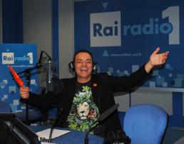 Nello studio del ComuniCattivo a Rai Radio 1
