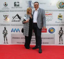 Igor Righetti con la regista e produttrice Carlotta Bolognini