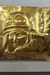 Il Premio Alberto Sordi, bassorilievo raffigurante il vigile Celletti interpretato dal grande attore.